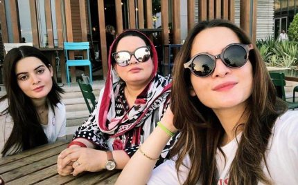 Aiman Khan In Dubai For Wedding Shopping