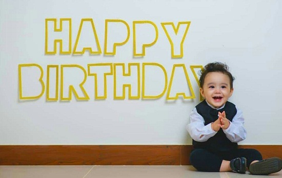 Rayyan Taimoor Turns One-Pre-Birthday Pictures