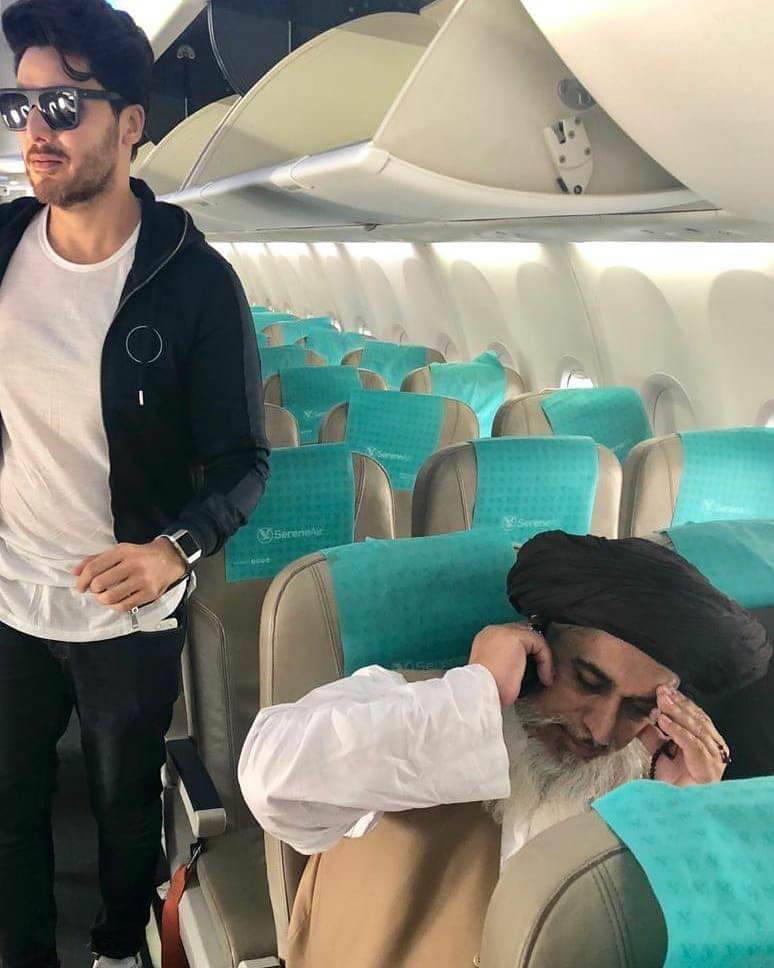 Paa Imtiaz And Khadim Rizvi Spotted Together
