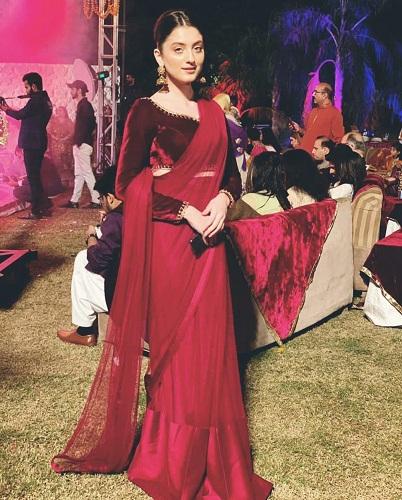 Neha Rajpoot Looks Ethereal In Saari