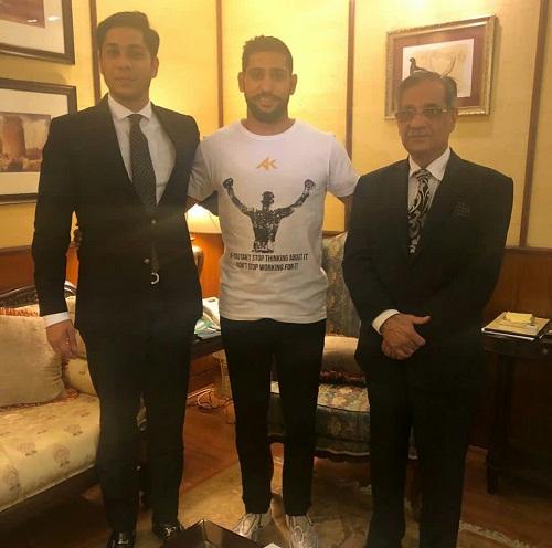 Amir And Faryal Meet PM IK And CJP In Islamabad