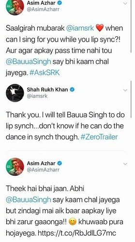 Asim Azhar Had His Fan Moment With SRK