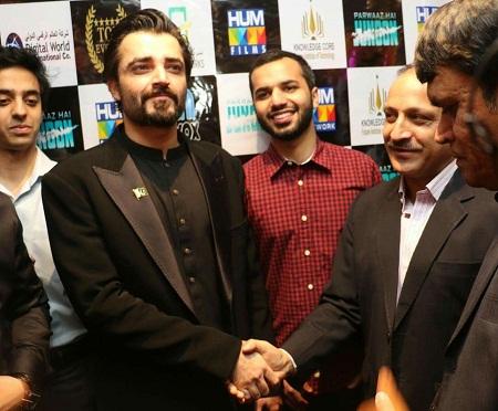 Hamza Ali Abbasi In KSA For PHJ Premiere