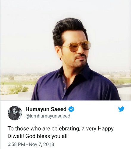 Celebrities Send Diwali Wishes To Fellow Pakistanis Celebrating Today