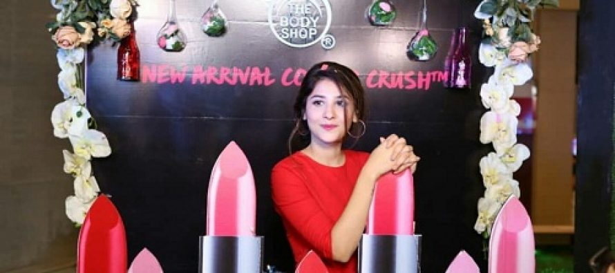 Hina Altaf Stuns In Red At A Recent Event