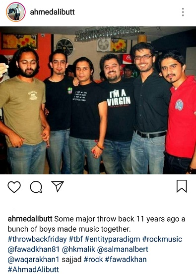 Ahmed Ali Butt Shares An EP Throwback