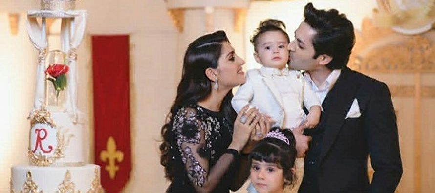 New Pictures Of Rayyan Taimoor On His Birthday