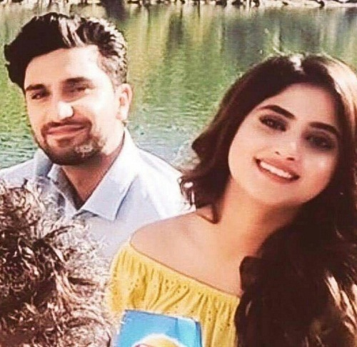 Ahad And Sajal In A Latest TVC