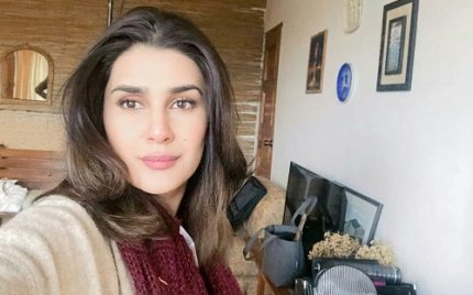 Kubra Khan On The Sets Of Alif