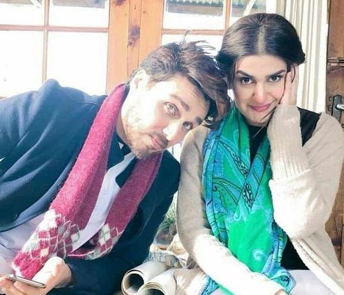 Kubra Khan On The Sets Of Alif