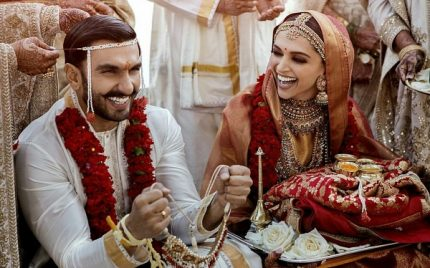 Ranveer Singh And Deepika Padukone Official Wedding Pictures