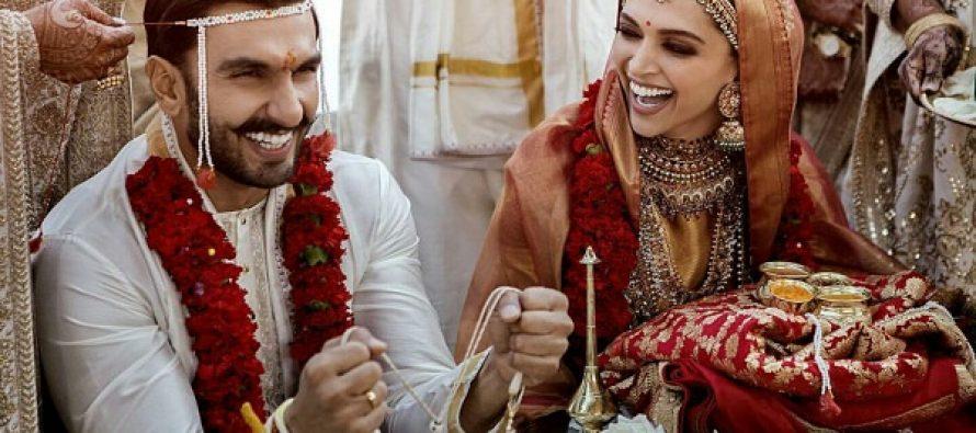 Ranveer Singh And Deepika Padukone Official Wedding Pictures