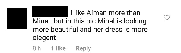 People Think Minal Is Copying Aiman And Looking Better