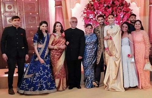 Ranveer And Deepika's Reception Pictures