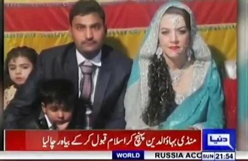 One More American Bahu Arrives In Pakistan