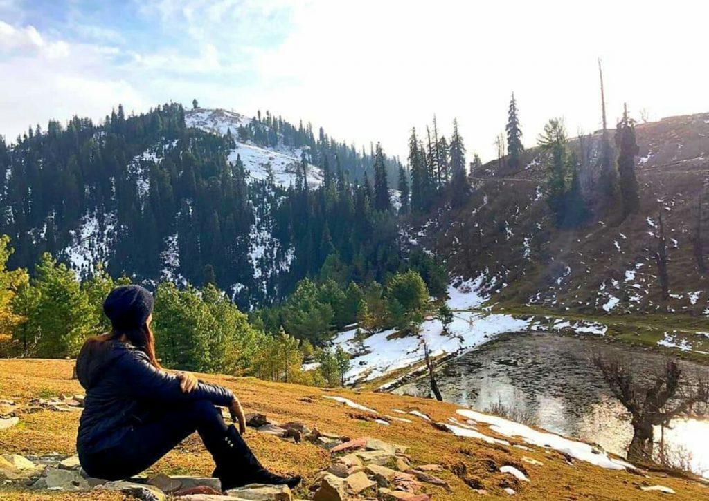 Zarnish Khan Enjoying A Trip To Northern Areas