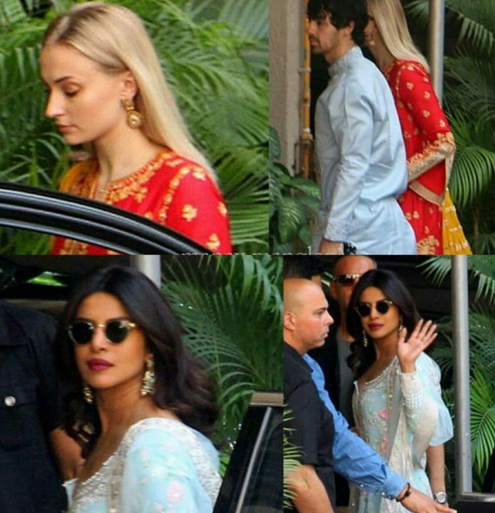 Nick Priyanka Wedding Festivities Start
