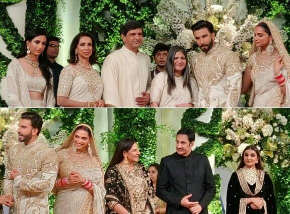 Ranveer Singh And Deepika Padukone's Mumbai Reception