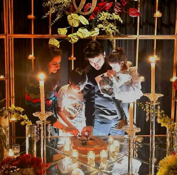 Fawad Khan Celebrates Birthday With Family