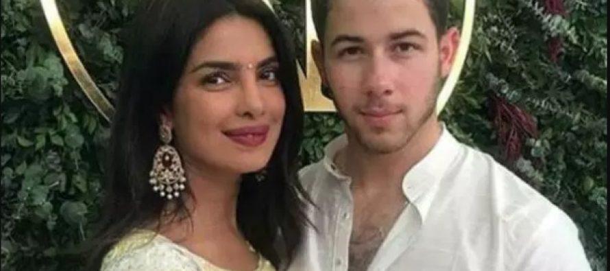 Priyanka Chora-Nick Jonas' Wedding Pictures Sold For 33 Cr