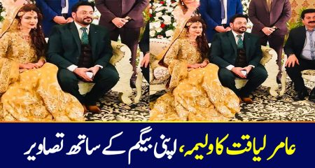 Amir Liaquat Valima Pictures Shocked Everyone