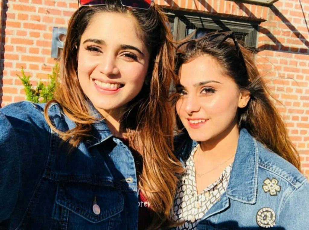 Aima Baig Spending Some Quality Time With Her Sister Komal Baig