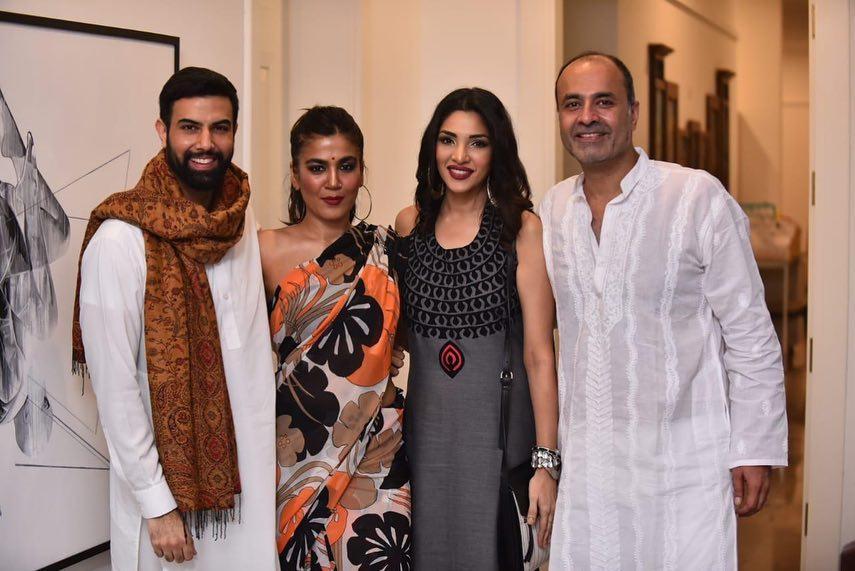 Celebrities Attended Deepak Perwani's Diwali Party