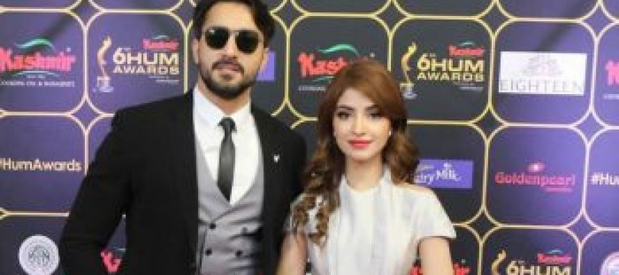 Kinza Hashmi And Hammad Shoot For A Dance Sequence