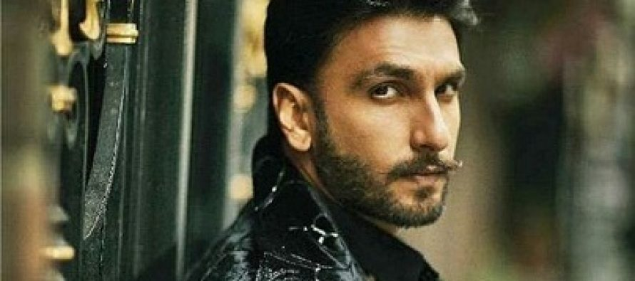 MNR Styles Ranveer Singh For A Shoot