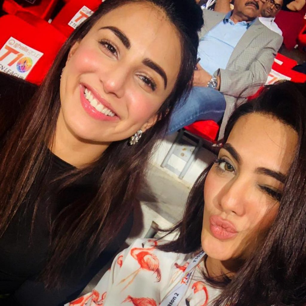 Celebrities At The Opening Ceremony Of T10 League In Sharjah