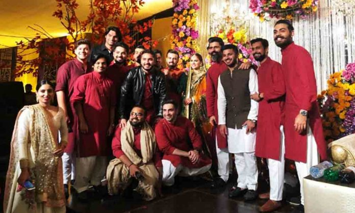 Islamabad United Manager's Cricket Themed Wedding