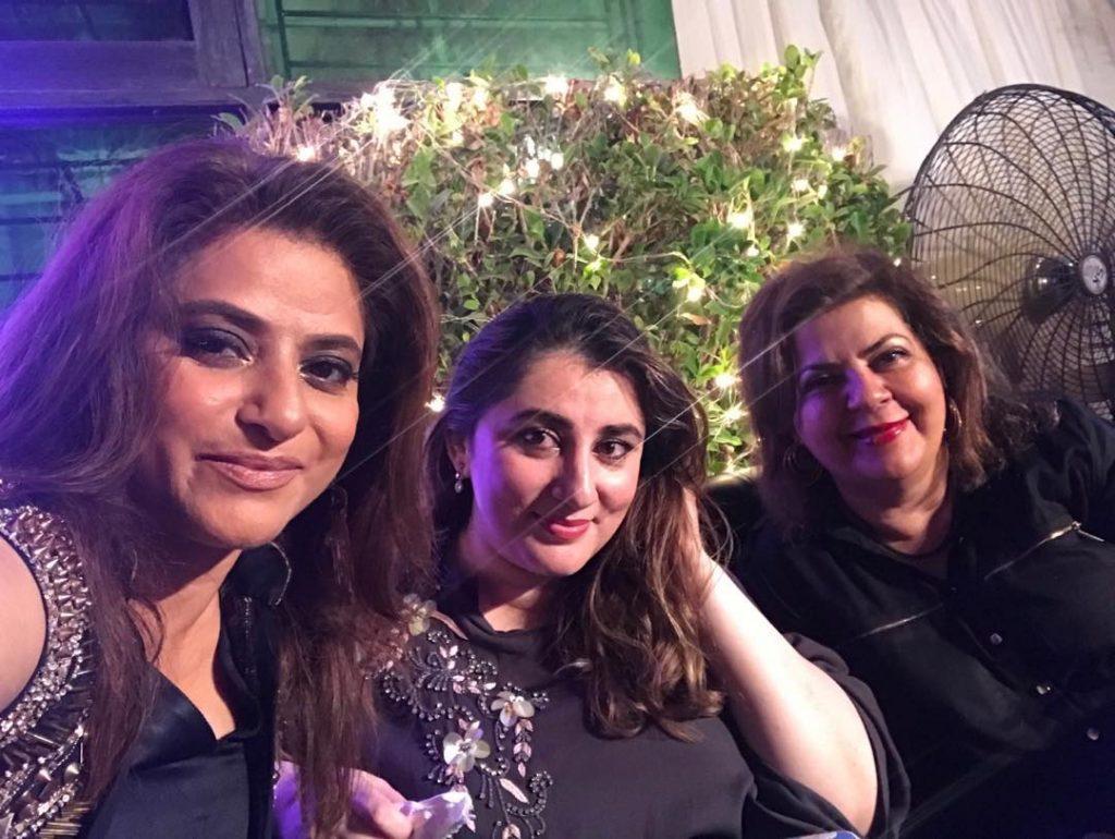Mariam Mirza's Clicks From Noman Masood's Wedding Anniversary