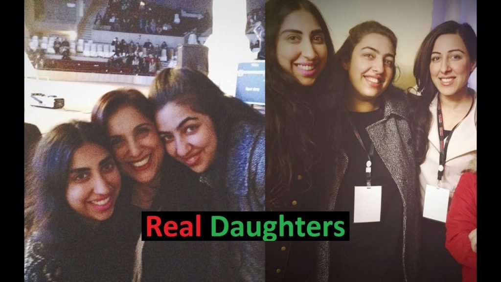 Sameena Peerzada On Her Daughters