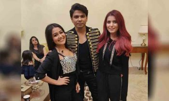 Momina Performed With Bollywood Singers In Dubai