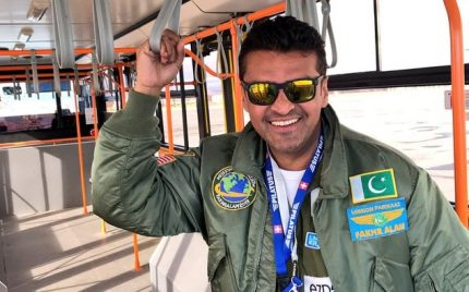 Fakhr e Alam Is All Smiles In Russia
