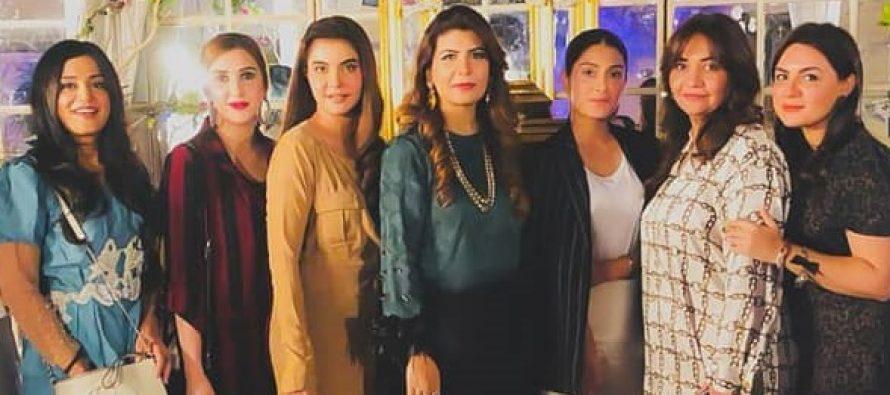 Nida Yasir And Ayeza Khan Attend A Party