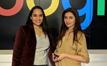 Mahira Khan At The Google Headquarters