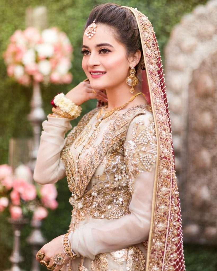 Aiman Khan Made The Most Beautiful Bride