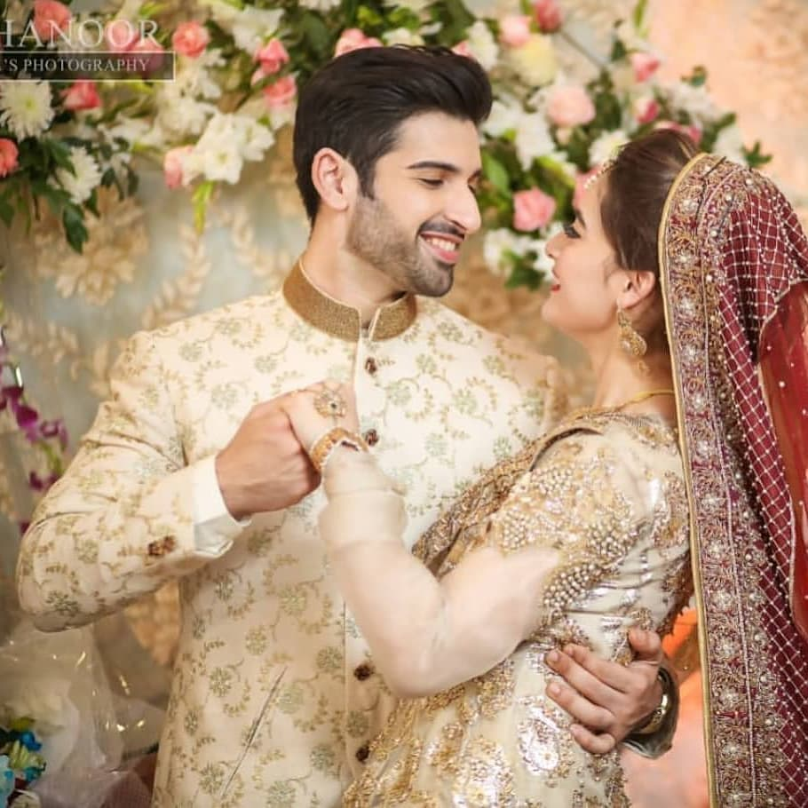 In Pictures: Love Is In The Air For Aiman And Muneeb