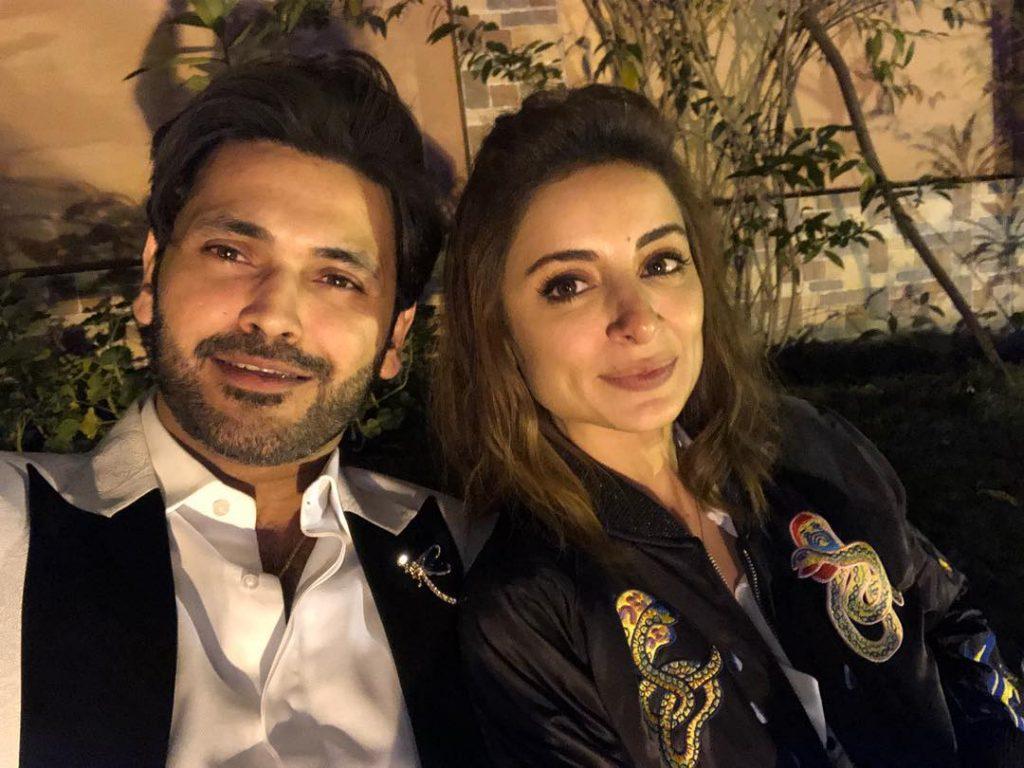 Sarwat Gillani and Fahad Mirza Attend A Qawali Night