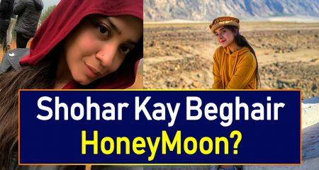 Where Is Sara Razi's Husband On Her Honeymoon?