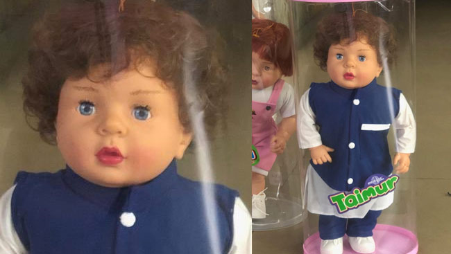 Taimoor Ali Khans Customized Doll; People React