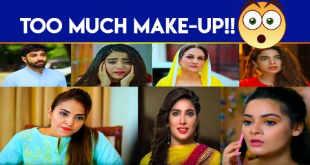 Pakistani Actors Who Rely Too Much On Make-up