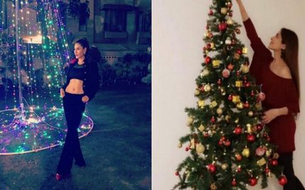 Pakistani Christian Celebrities At A Christmas Party – Pictures
