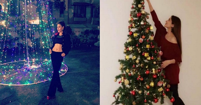Pakistani Christian Celebrities At A Christmas Party - Pictures