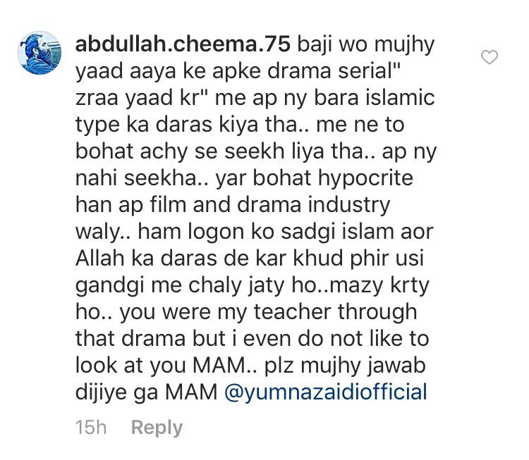 Yumna Zaidi Criticized For Her 'Modern' Look