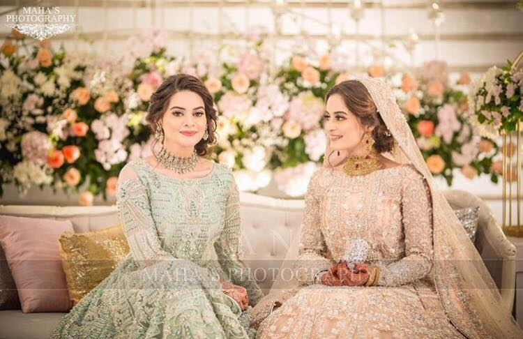 Aiman Khan Walima Exclusive Pictures & Videos