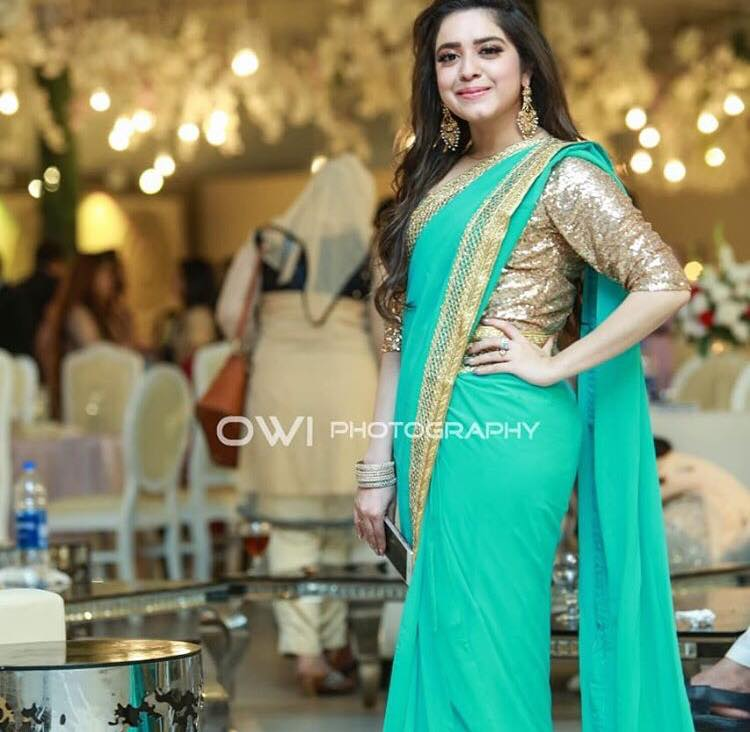 Celebrities At Aiman Khan's Walima