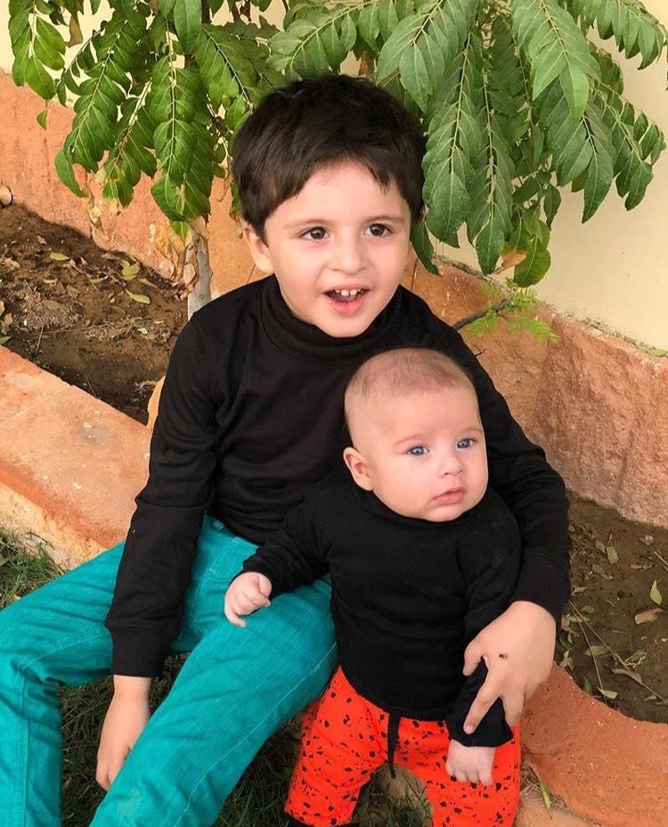 Latest Pictures Of Fatima Effendi's Son