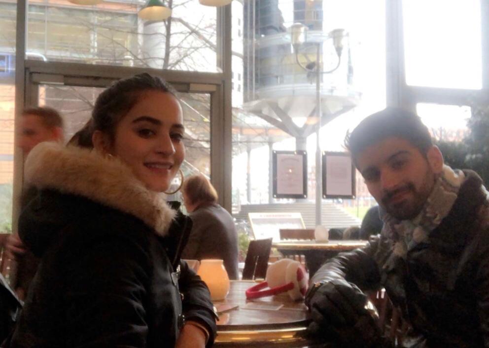Aiman Khan And Muneeb Butt Honeymoon Pictures